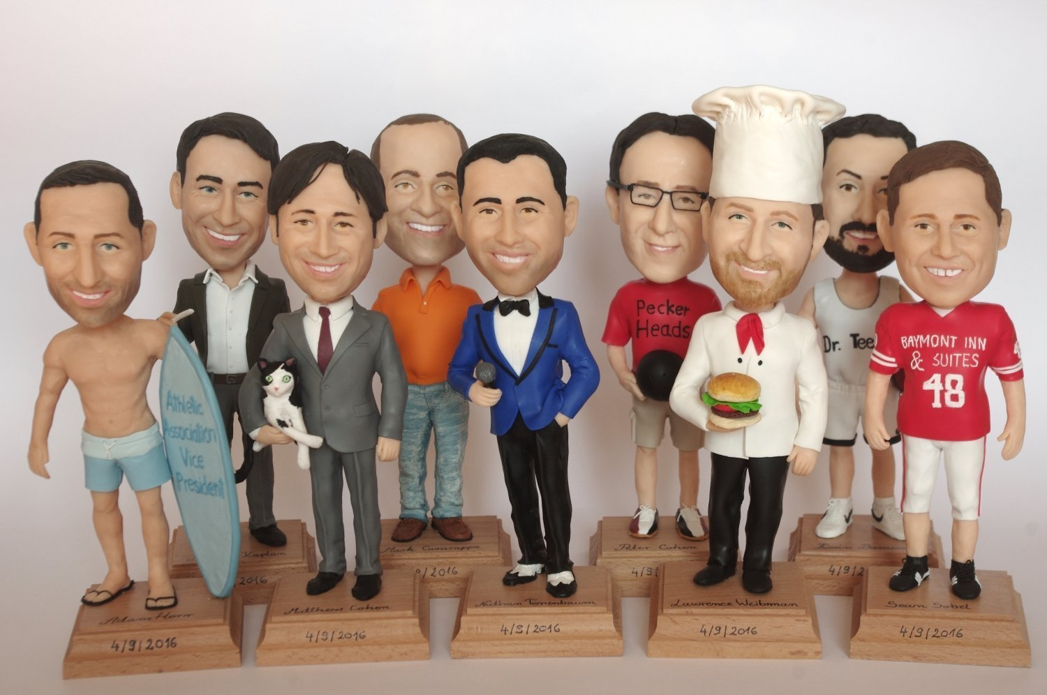 Customization of the Type of the Bobblehead Dolls » Dfives